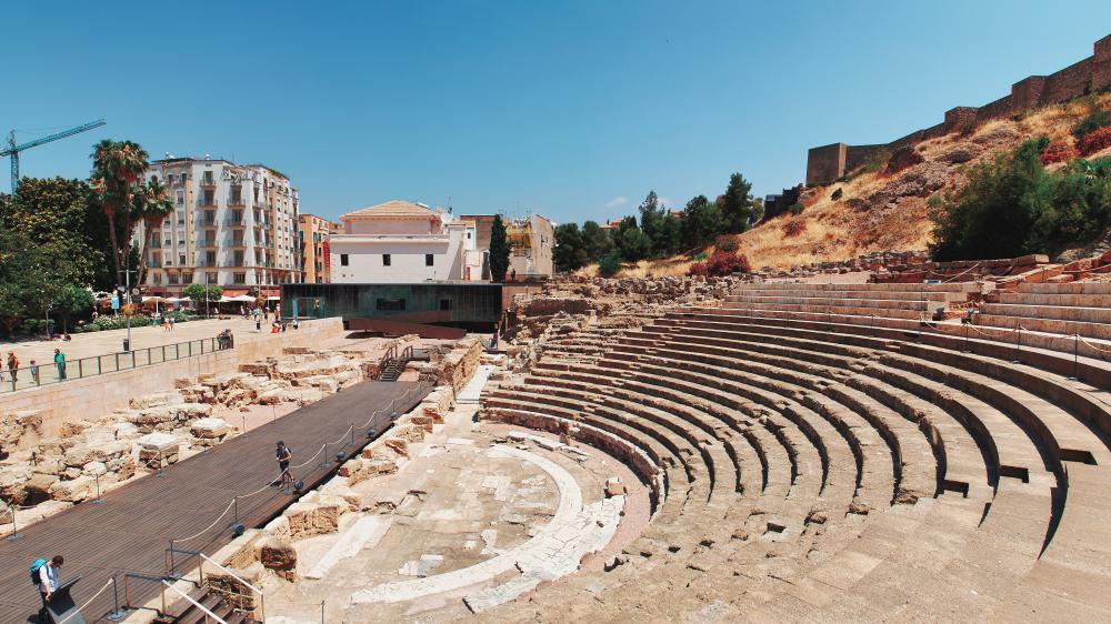 Фото Римский театр Малага