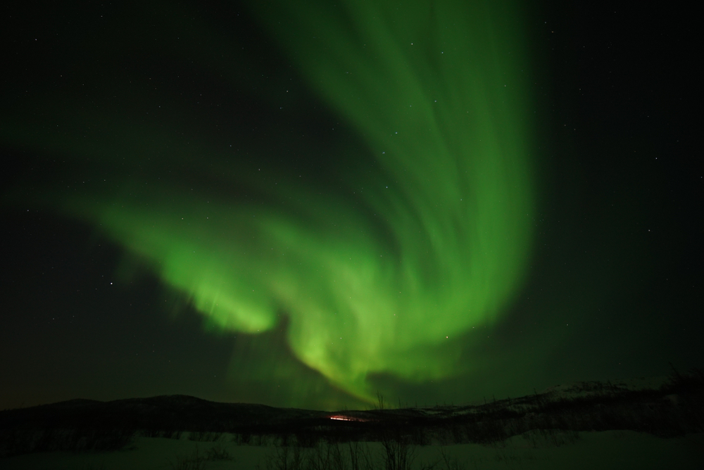 Канадцы транслируют северное сияние онлайн