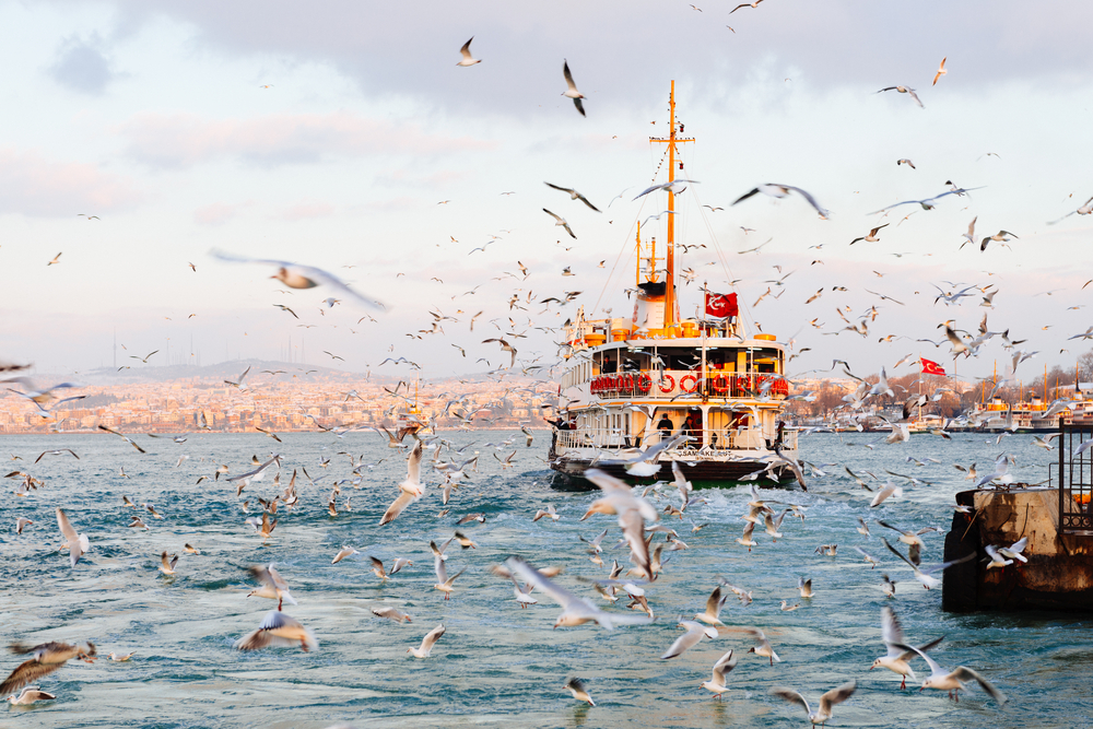 Паромы в Стамбуле теперь работают круглосуточно и в выходные дни