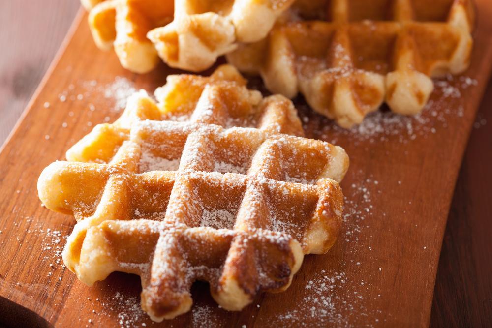 Масло личинок сделает бельгийские вафли экологичными