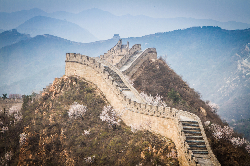 Часть Великой Китайской стены открыли для посетителей