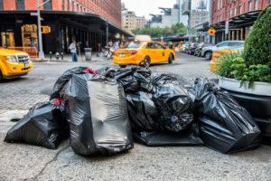 В Нью-Йорке бедным раздадут эко-сумки: пластик запретили