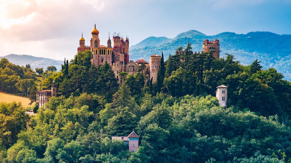 Фото Болоньи замок