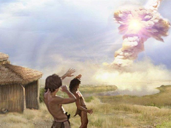 13 тысяч лет назад жители ближневосточного поселения видели взрыв кометы.Вокруг Света. Украина