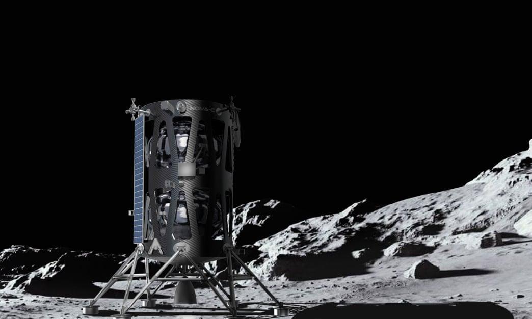 Компания Intuitive Machines определила место для приземления грузов на Луне