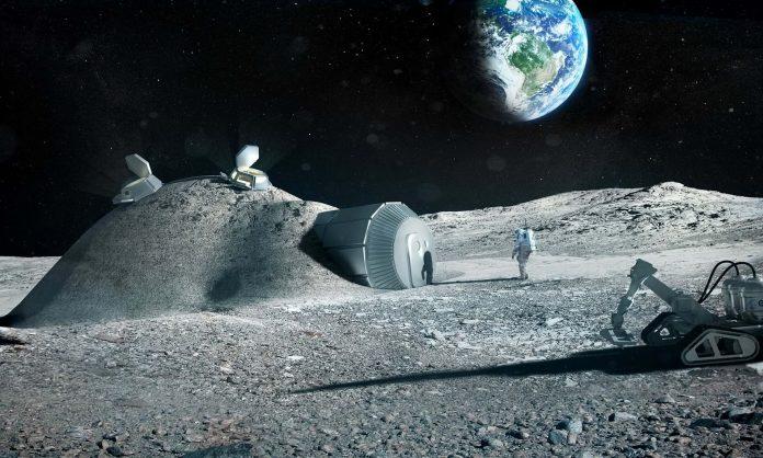 В НАСА рассказали, как будет выглядеть лунная база в 2024