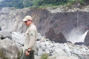 В Эквадоре исчез самый высокий водопад страны