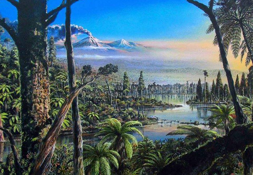 В тропических лесах Антарктиды бродили динозавры.Вокруг Света. Украина