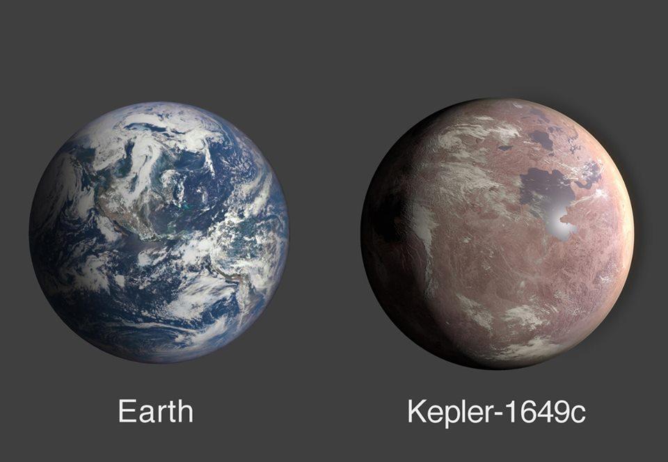 Обнаруженная NASA экзопланета очень похожа на Землю.Вокруг Света. Украина