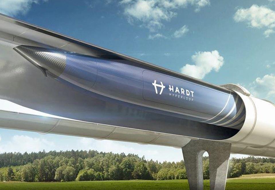 Нидерланды соединят сетью Hyperloop пять городов Европы.Вокруг Света. Украина