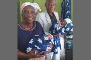 68-летняя жительница Нигерии родила двойню