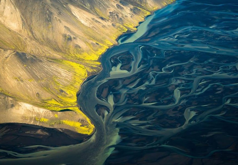Фантастические снимки Исландии предупреждают о гибели рек