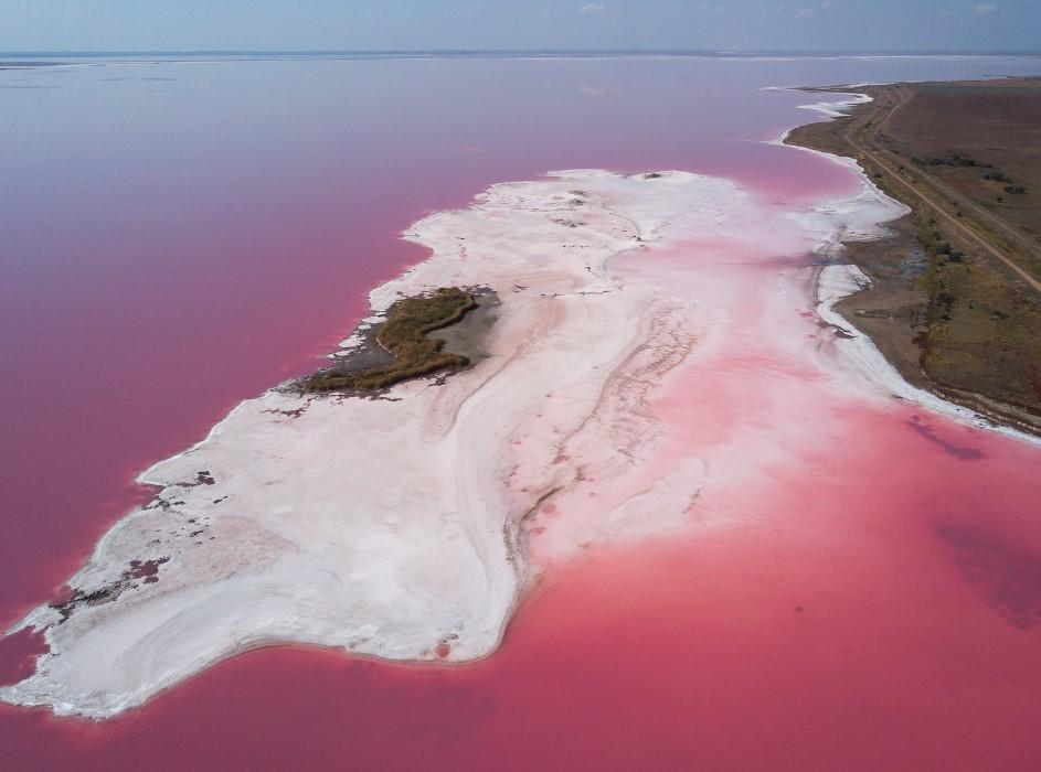 Британцам покажут соляные озера Херсонской области