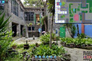 В дом Фриды Кало можно попасть онлайн