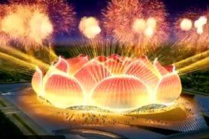 В Китае построят самый большой футбольный стадион в мире