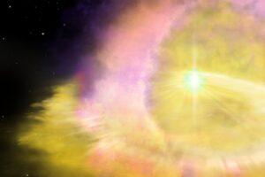 Ученые обнаружили самый яркий из известных объект во Вселенной