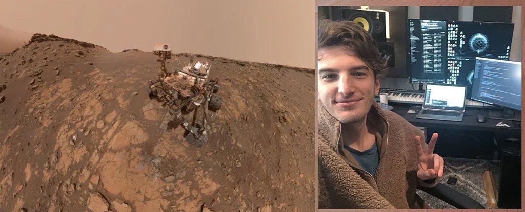 Команда Curiosity управляет марсоходом из домашних кабинетов
