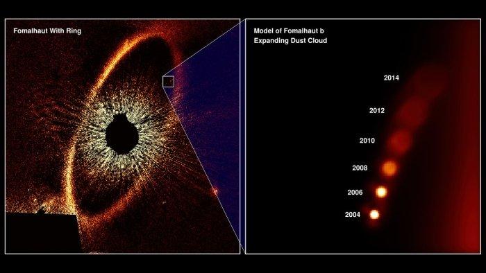 исчезнувшая экзопланета