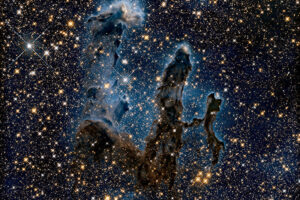 Хаббл сделал новый снимок туманности Орёл - дух захватывает