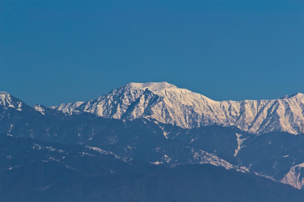 Впервые за десятилетия Гималаи стали видны из Индии