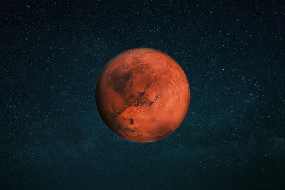 Метеориты рассказали ученым об океанах на Марсе