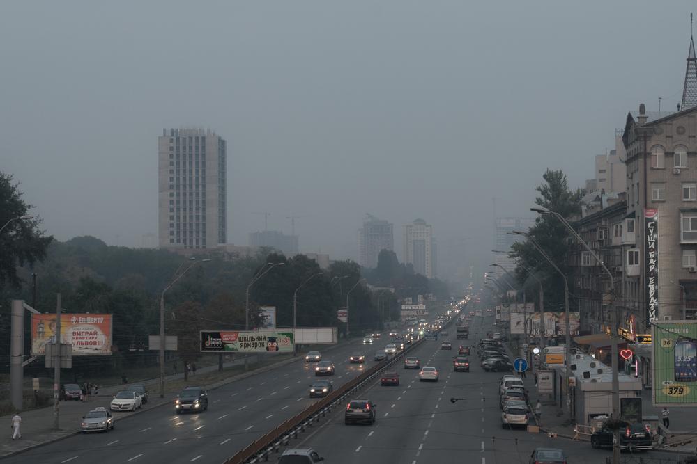 Киев возглавил рейтинг городов с худшим воздухом