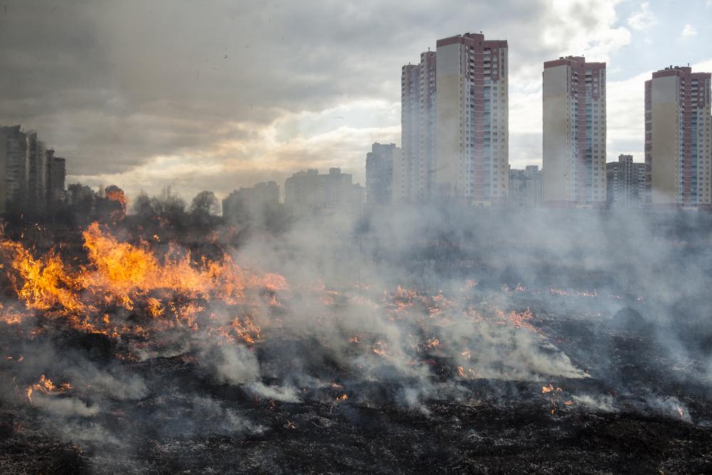 Гарь и пыльная буря: воздух Киева опять стал худшим в мире