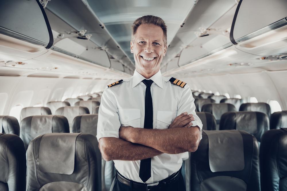 Пилот развлекается во время карантина
