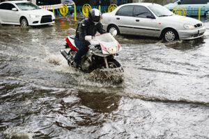 В Киеве прошел дождь-рекордсмен