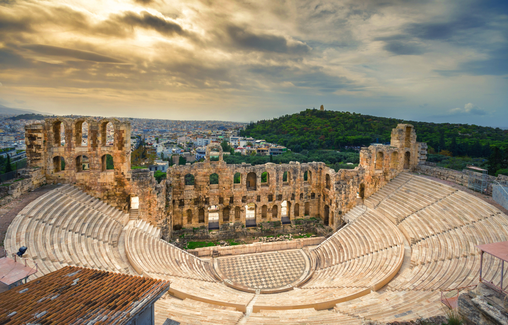 Греция приглашает виртуальных туристов