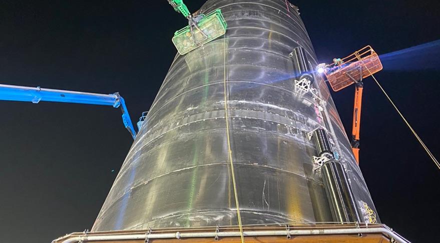Космический корабль SpaceX опять был разрушен при испытаниях