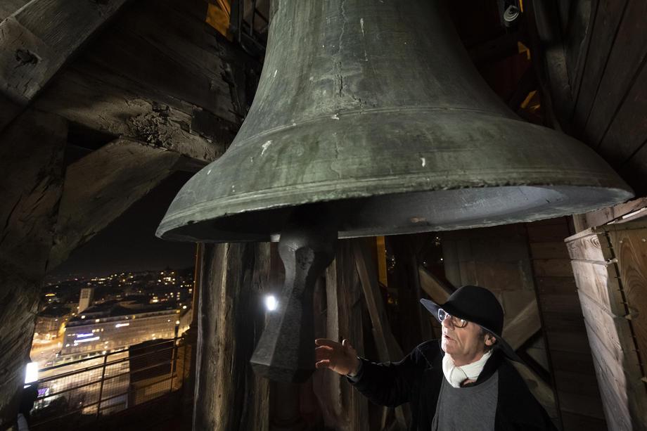 В соборе Лозанны на фоне пандемии проснулся колокол