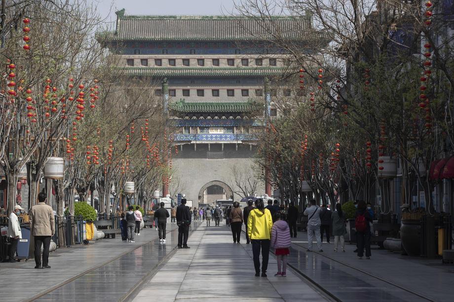 Туристические объекты Китая вновь заполнены людьми