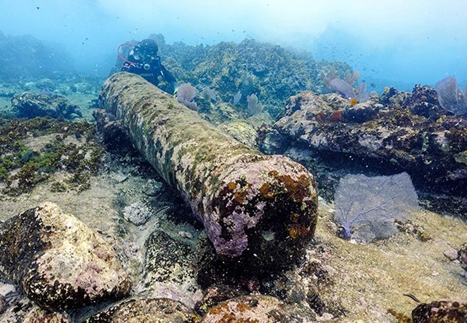 Мексиканские археологи нашли обломки корабля, затонувшего 200 лет назад