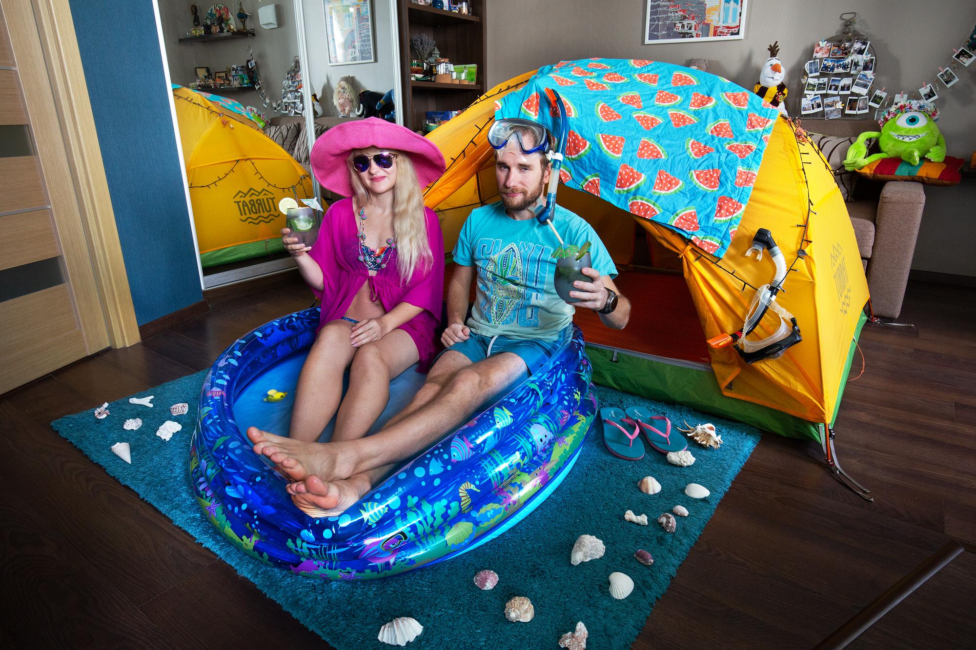 карантин в палатке