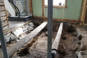 В Норвегии пара нашла 1000-летнюю могилу викинга под своей спальней