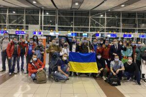 Украинские полярники из прошлогодней экспедиции едут домой
