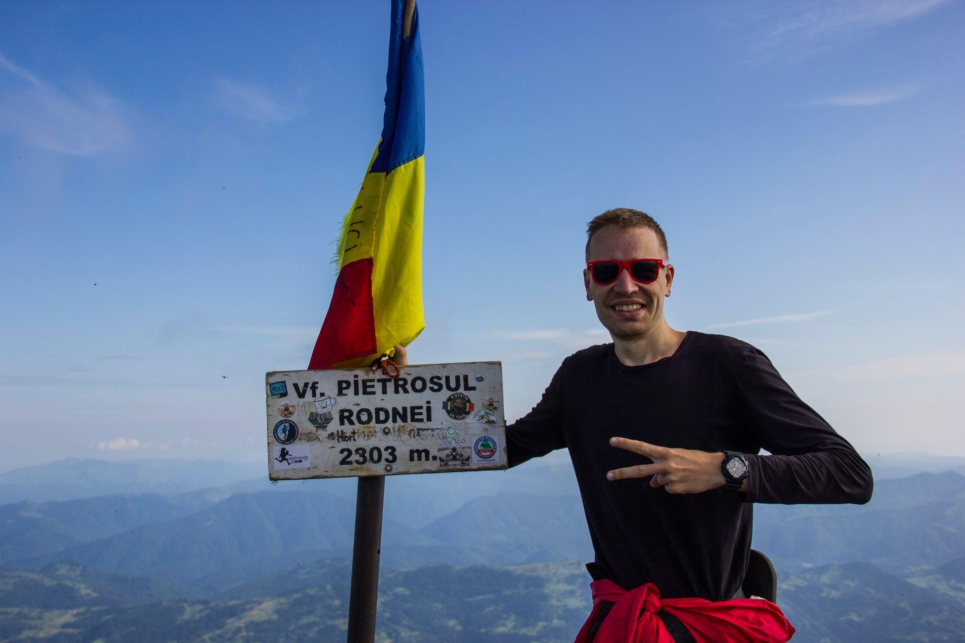 гора Петросул румынские Карпаты