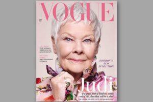 Джуди Денч стала старейшей звездой обложки British Vogue