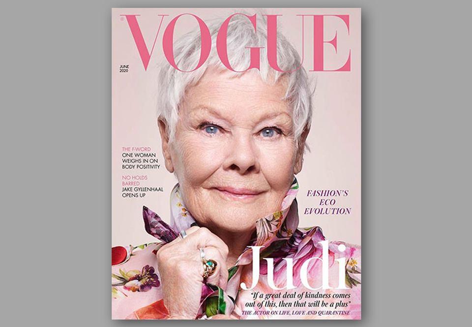 Джуди Денч стала старейшей звездой обложки British Vogue.Вокруг Света. Украина