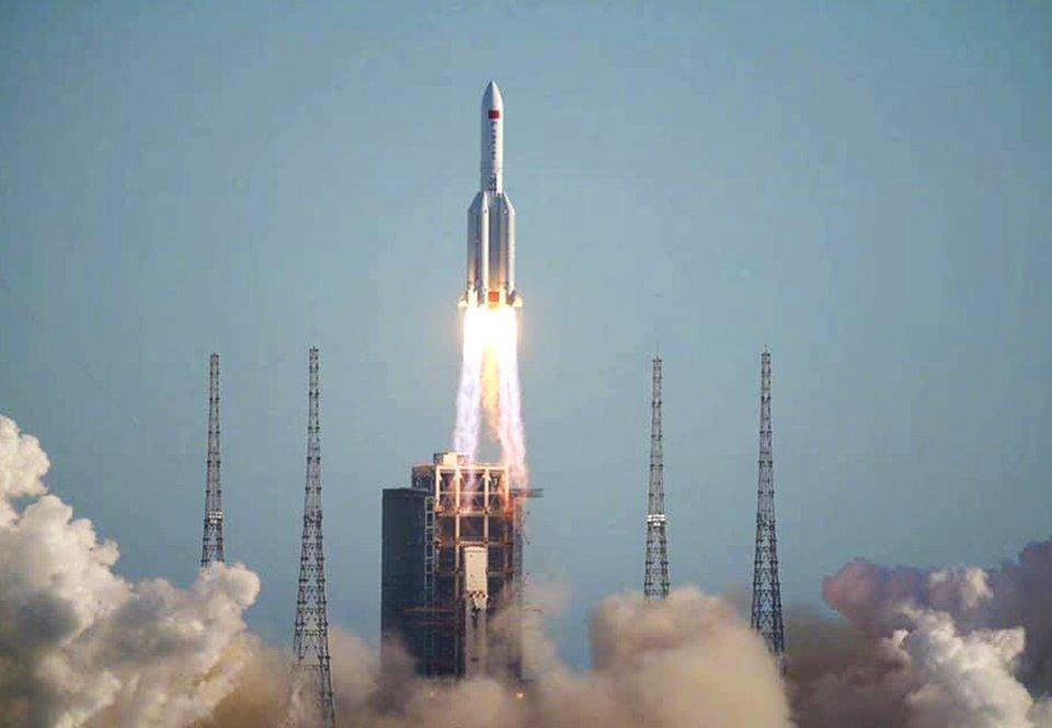 В июле Китай отправит свой первый марсоход на Красную планету