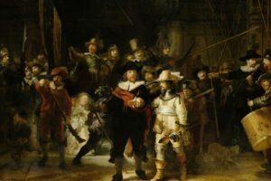 Музей Амстердама выложил в сеть точнейшую копию «Ночного дозора»