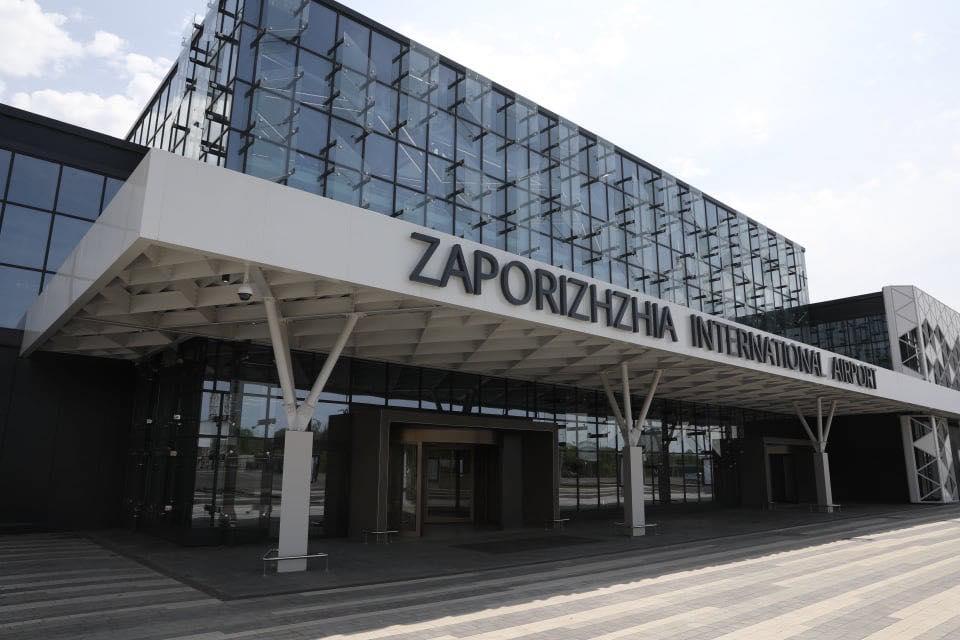 В Запорожье достроили новый терминал аэропорта.Вокруг Света. Украина