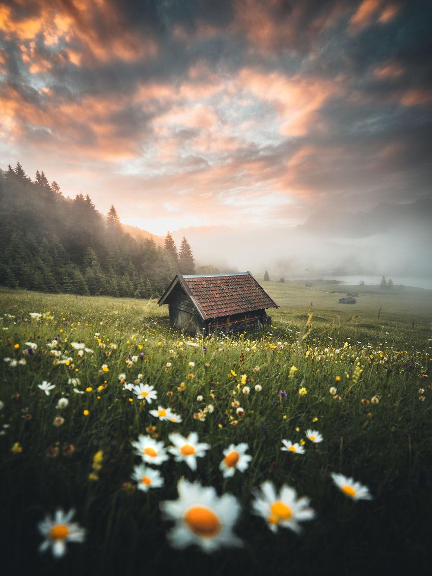 весна в Баварии