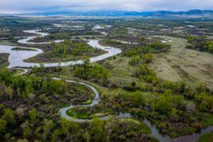 Уровень воды в реке Миссури стал самым низким за 1200 лет