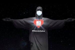 Статуя Христа в Рио-де-Жанейро опять борется с коронавирусом