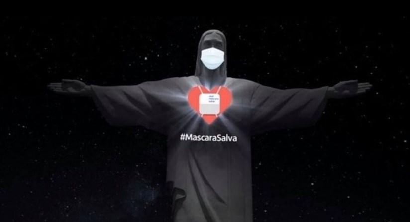 Статуя Христа в Рио-де-Жанейро опять борется с коронавирусом.Вокруг Света. Украина
