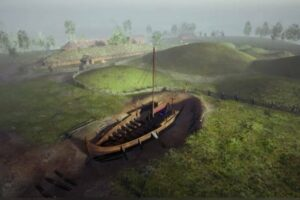 Уникальный погребальный корабль викингов разъедает грибок
