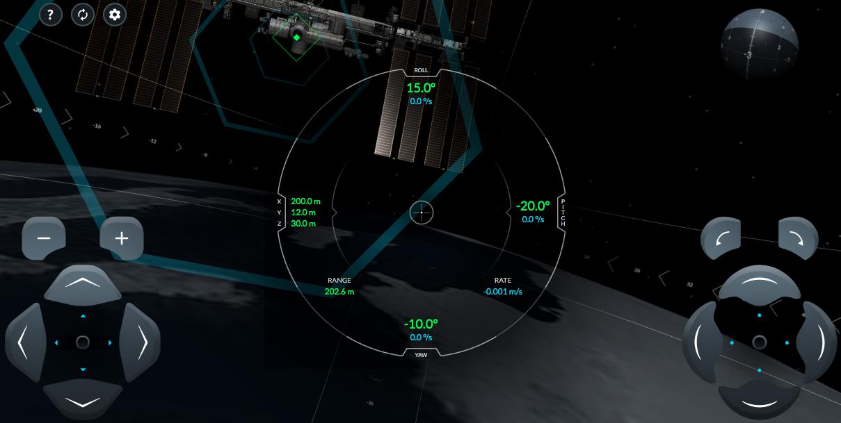 Накануне запуска пилотируемого корабля SpaceX запустила онлайн-симулятор