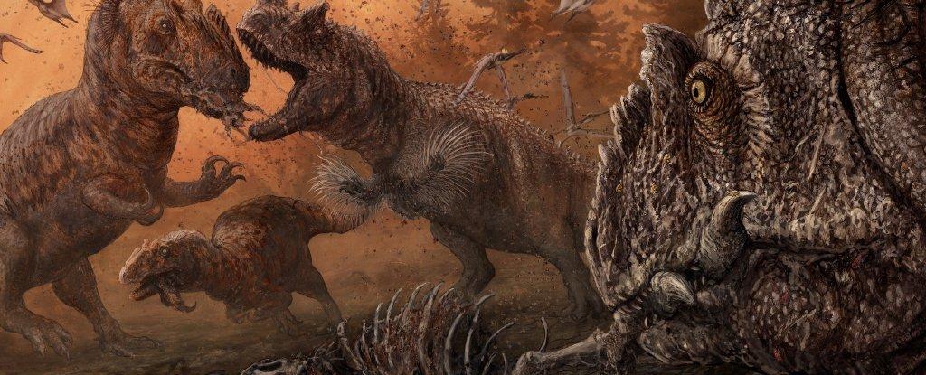 Ученые подтвердили каннибализм у еще одного вида динозавров.Вокруг Света. Украина